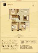 文华南阳天地3室2厅2卫108--122平方米户型图