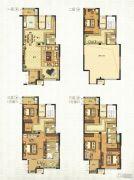 福宁环球广场4室2厅2卫264平方米户型图