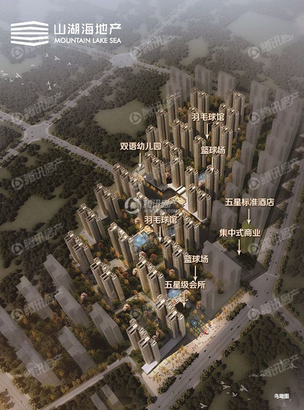 山湖海·上城项目效果图