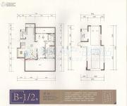 美的・罗兰春天1室1厅1卫163平方米户型图