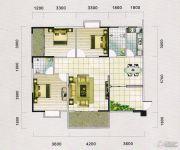 蓝宝湾3室2厅2卫117--122平方米户型图