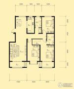 米兰国际3室2厅2卫139平方米户型图