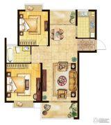 三水萧林2室2厅1卫102平方米户型图