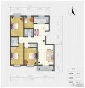 荣国花园4室2厅2卫142平方米户型图