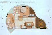 海韵华轩0室0厅0卫77平方米户型图