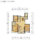 藁开・康德郡3室2厅2卫133平方米户型图