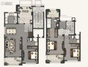 融创海上桃源3室2厅3卫143平方米户型图