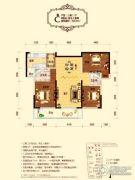 天誉华府3室2厅2卫119--120平方米户型图