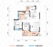 云鼎・天阙3室2厅1卫91--106平方米户型图
