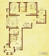 国赫红珊湾3室2厅2卫111平方米户型图