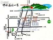 中体奥林匹克花园・花园一号交通图