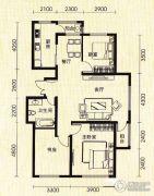 世纪雅苑3室2厅1卫0平方米户型图