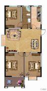 富业・景颐花园3室2厅1卫117平方米户型图