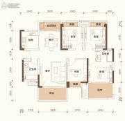 绿地悦麓名邸4室2厅2卫115平方米户型图