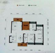 恒裕水墨兰亭4室2厅2卫121平方米户型图