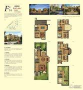 金潮铂金公馆4室3厅4卫407--460平方米户型图