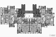星光耀广场0室2厅1卫85--90平方米户型图