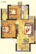 紫郡华宸2室1厅1卫74平方米户型图