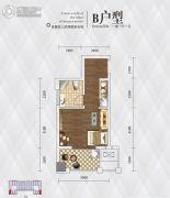英祥・春天广场1室1厅1卫34平方米户型图