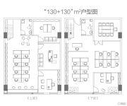 和信广场复式办公0室0厅0卫0平方米户型图