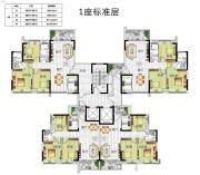 锦绣一方3室2厅1卫83--112平方米户型图