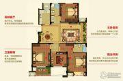明月湾4室2厅2卫133--146平方米户型图
