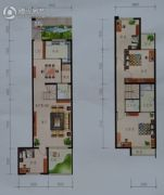 益盛园4室2厅3卫162平方米户型图