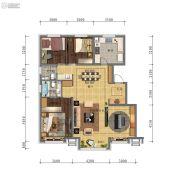 万科・招商 城市之光3室3厅2卫0平方米户型图