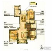 城置御水华庭3室2厅2卫137平方米户型图