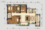 北星城4室2厅2卫119平方米户型图