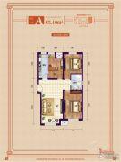 象博豪庭3室1厅1卫95平方米户型图