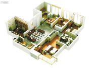 启迪国际城仕家4室2厅2卫139平方米户型图