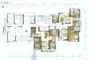 美的君兰江山4室2厅3卫196平方米户型图