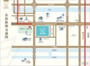 东怡新地交通图