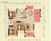 恒凯雅苑3室2厅2卫119平方米户型图