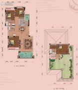 龙光阳光海岸4室2厅2卫154--156平方米户型图