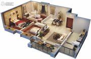 天润・新天地3室2厅2卫120平方米户型图