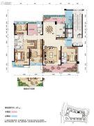 碧桂园・滨江壹号5室2厅3卫264平方米户型图