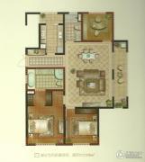 景瑞望府3室2厅2卫130平方米户型图