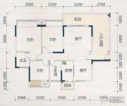 壹品湖山3室2厅2卫80--150平方米户型图