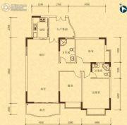 碧桂园・凯旋华府3室2厅2卫132平方米户型图