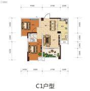 远发・麓港2室2厅1卫0平方米户型图