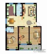 宜丰苑3室2厅2卫0平方米户型图