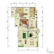 华润中央公园0室0厅0卫212平方米户型图