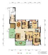 中核・半岛城邦4室2厅2卫154平方米户型图