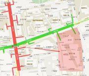 苏宁广场交通图