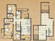 东方今典3室2厅2卫152平方米户型图