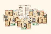 合生帝景城95--128平方米户型图