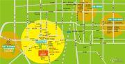 西美花街生活工场交通图