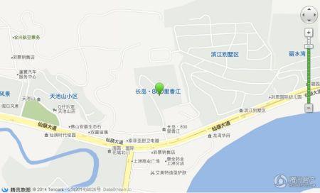 长岛风景区 地图